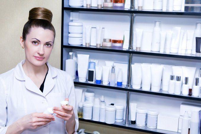 Выбор косметики с витаминами