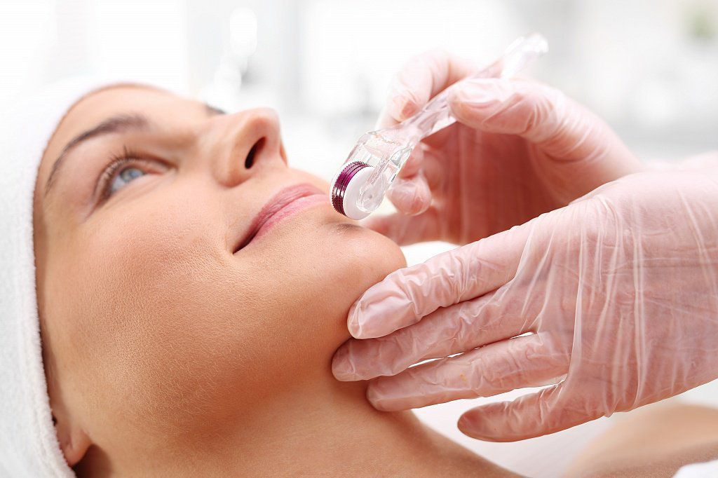 Процедура мезороллерной терапии