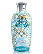 Peaches Coconut and Cream - Персик и Сливки - Активатор загара 200 мл Supertan American Product
