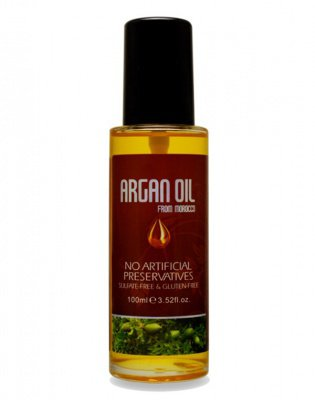 ARGAN OIL from MOROCCO Масло арганы для волос, Argan Oil from Morocco Nuspa, 100мл* 6590132